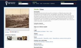 Biblioteca Digital Mundial ya esta en el Internet