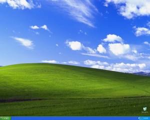 El fondo de pantalla de windows XP perdió su belleza