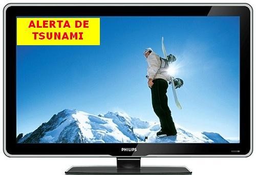 Se podrán enviar señales de emergencia ante desastres a través de la TV digital